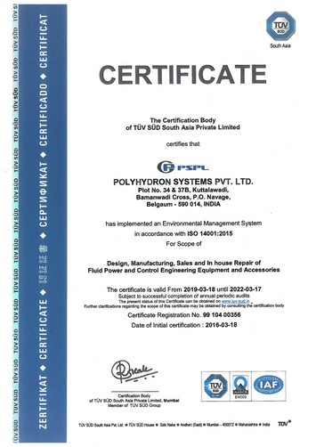 PSPL - EMS Certificate